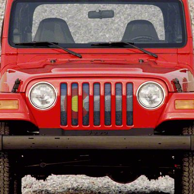 Dirty Acres Grille Insert - Colorado Scenic (97-06 Jeep Wrangler TJ)