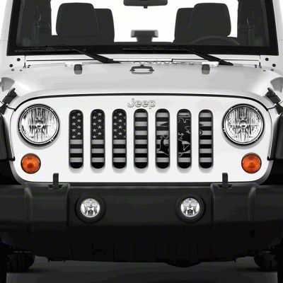Dirty Acres Grille Insert - Semper Fi USMC (07-18 Jeep Wrangler JK)