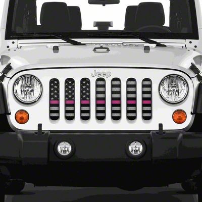 Dirty Acres Grille Insert - Tactical Fight (07-18 Jeep Wrangler JK)