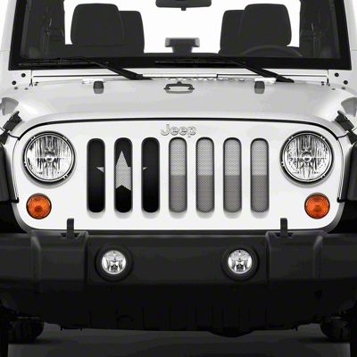 Dirty Acres Grille Insert - Texas Tactical State Flag (07-18 Jeep Wrangler JK)