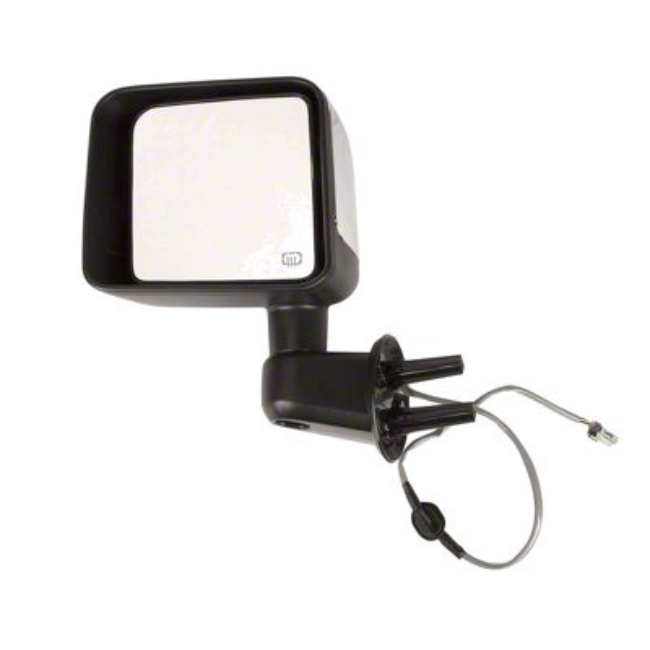 Omix-ADA Heated Power Mirror w/ Chrome Cover - Driver Side (2014 Jeep Wrangler JK)