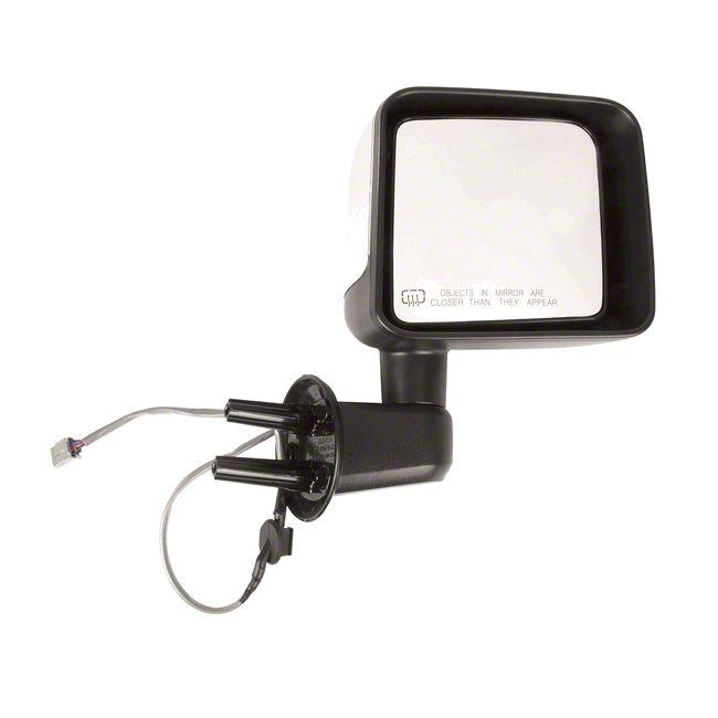 Omix-ADA Heated Power Mirror w/ Chrome Cover - Passenger Side (2014 Jeep Wrangler JK)