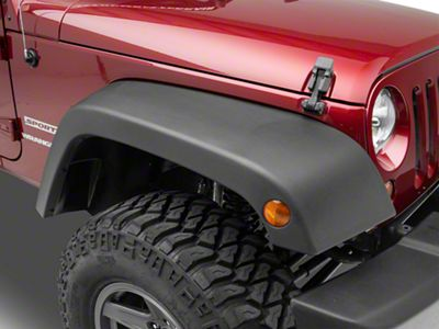 Omix-ADA Replacement Fender Flares (07-18 Jeep Wrangler JK)