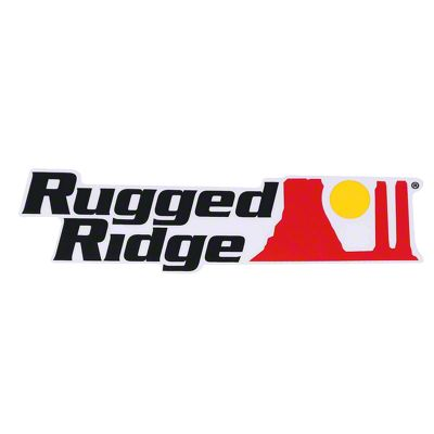Rugged Ridge Decal - Black