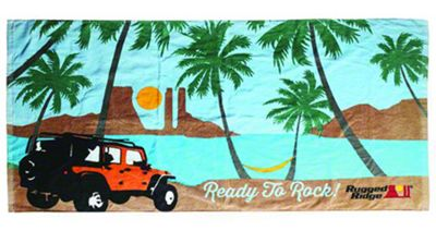 Rugged Ridge Beach Towel