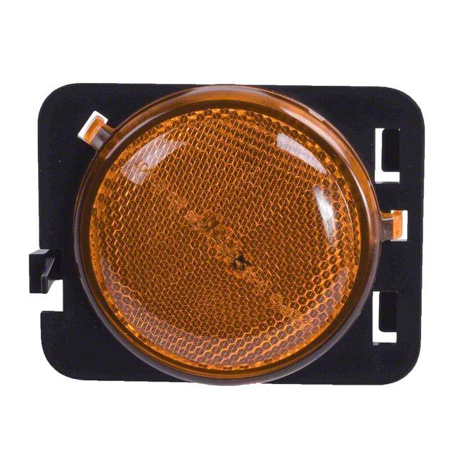 Omix-ADA Amber Side Marker Lamp - Driver Side (07-18 Jeep Wrangler JK)