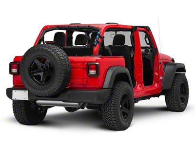 EK Motorsports Roll Bar Flashlight Holder (87-18 Jeep Wrangler YJ, TJ, JK & JL)