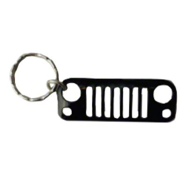 JK Grille Keychain - Black