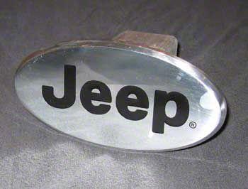 Jeep Logo Hitch Cover (87-18 Jeep Wrangler YJ, TJ, JK & JL)