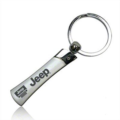 Metal Blade Keychain w/ Jeep Name