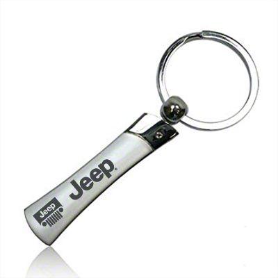 Metal Blade Keychain w/ Wrangler Name