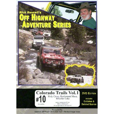 Jeep Adventure Videos: Colorado Trails, Vol 1. (DVD)