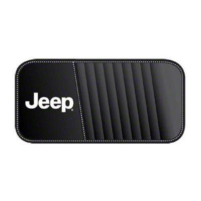 Alterum Jeep Logo CD & DVD Visor Organizer