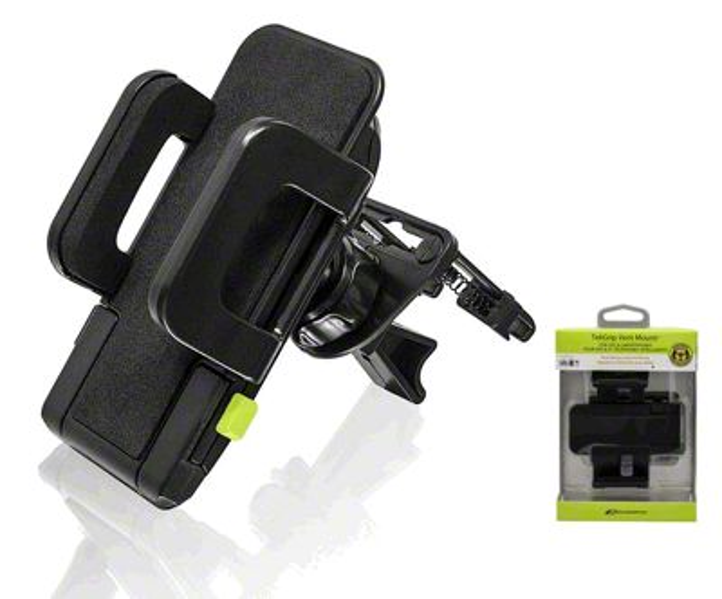 Bracketron TekGrip Vent Mobile Device Mount (87-18 Jeep Wrangler YJ, TJ, JK & JL)