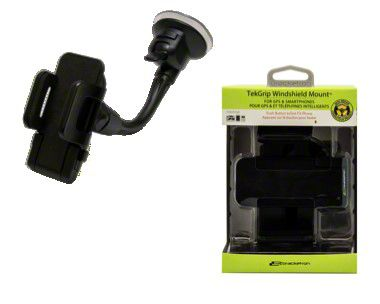 Bracketron TekGrip Windshield Mobile Device Mount (87-19 Jeep Wrangler YJ, TJ, JK & JL)