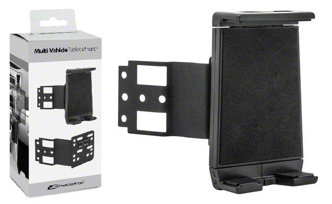 Bracketron Permanant Vehicle Tablet Mount (87-19 Jeep Wrangler YJ, TJ, JK & JL)