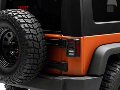 Jeep Tweaks Tail Light Guards - Jeep Wrangler Design (07-18 Jeep Wrangler JK)
