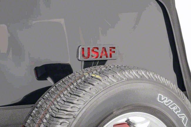 Jeep Tweaks Third Brake Light Guard - United States Air Force (07-18 Jeep Wrangler JK)
