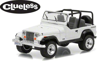 GreenLight Collectibles 1994 Jeep Wrangler YJ Clueless Diecast Model - 1:64 Scale