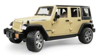 Jeep Wrangler JK Unlimited Rubicon Toy - 1:16 Scale