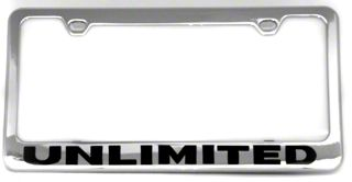 Unlimited License Plate Frame