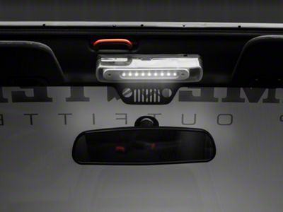 Rugged Ridge Interior Roll Bar Mounted LED Courtesy Light (07-18 Jeep Wrangler JK)