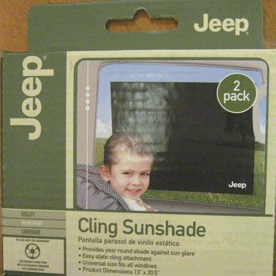 Jeep Car Window Cling Sunshade