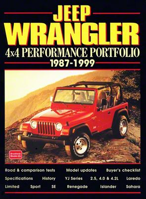 1987-1999 Jeep Wrangler 4x4 Performance Portfolio Book