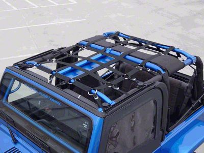 Raingler Nets Full Roof Net (87-18 Jeep Wrangler YJ, TJ, JK & JL)