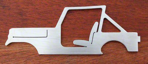 Jeep Wrangler YJ Style Bottle Opener