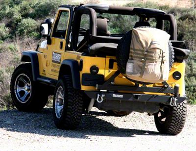 Trasharoo Spare Tire Trash Bag - Black (87-18 Jeep Wrangler YJ, TJ, JK & JL)
