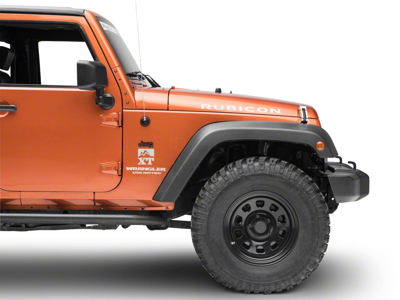 Chroma Jeep Molded Emblem
