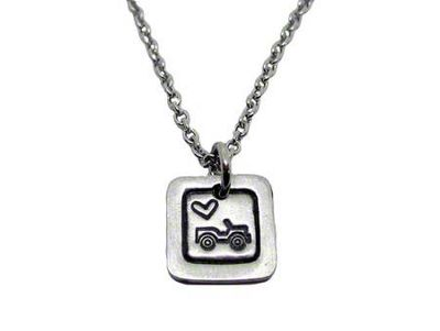 Mini Jeep Wrangler Necklace