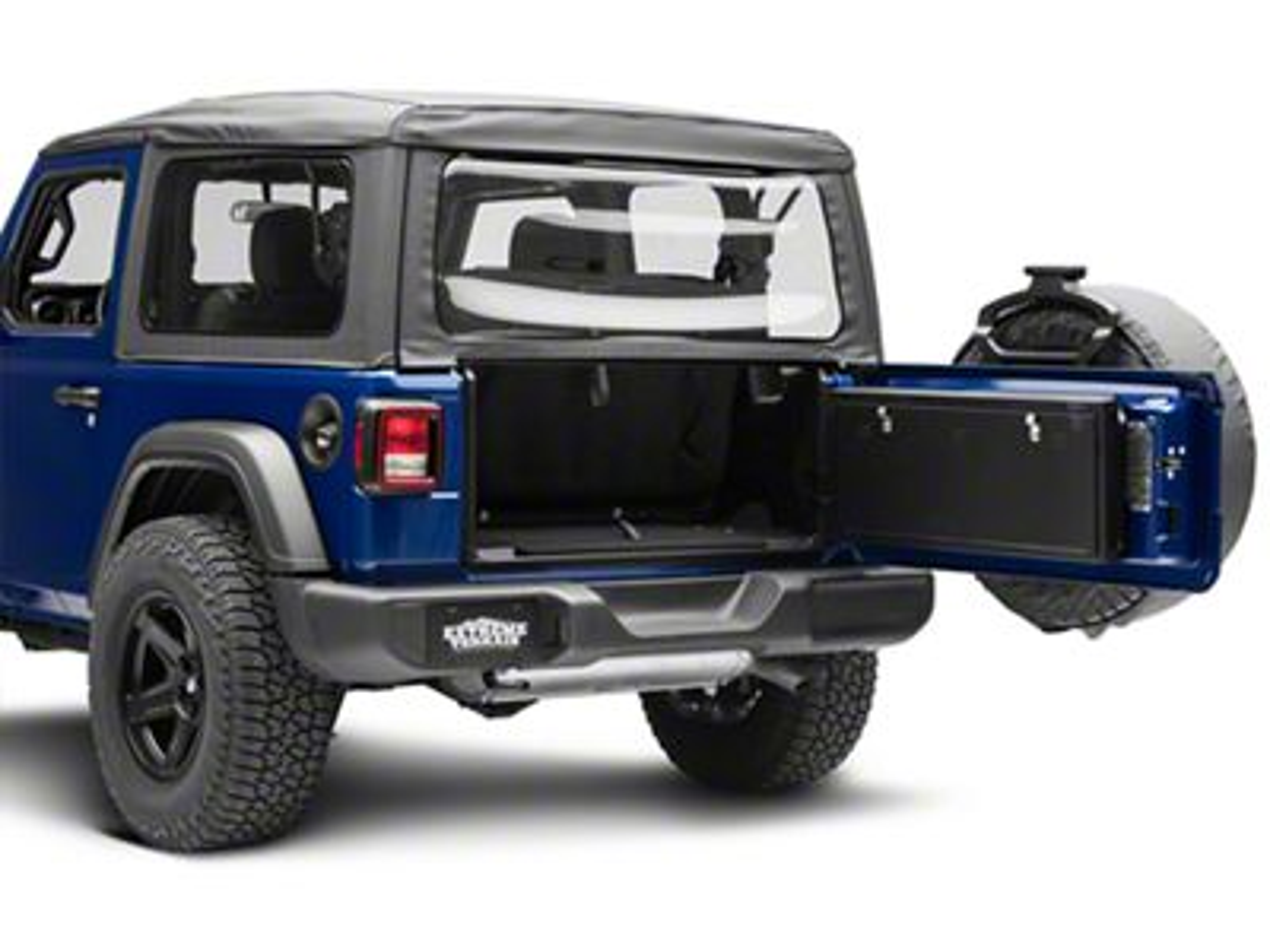 Tuffy Tailgate Lockbox (2018 Jeep Wrangler JL)