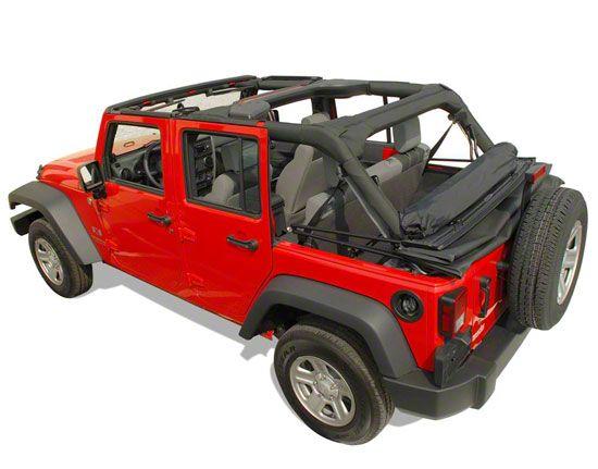 Clover Patch Window Roll (07-18 Jeep Wrangler JK 4 Door)