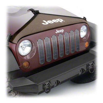 Mopar Hood Cover - Khaki (07-18 Jeep Wrangler JK)