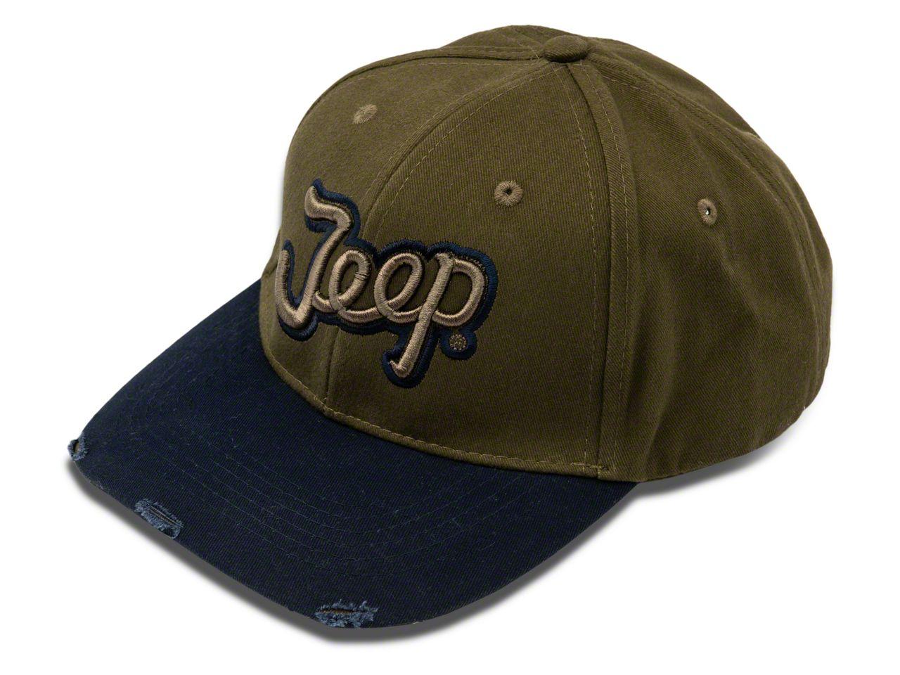 Jeep Script Hat