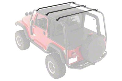 Smittybilt Replacement Vertical Bars for SRC Roof Rack (07-18 Jeep Wrangler JK 2 Door)