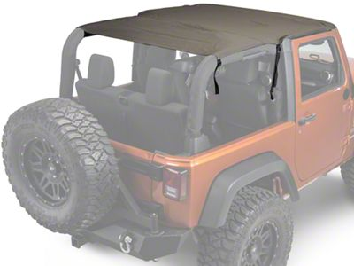 Rugged Ridge Pocket Island Top - Khaki Diamond (07-09 Jeep Wrangler JK 2 Door)