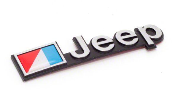 Omix-ADA Stick On Jeep Emblem (87-90 Jeep Wrangler YJ)