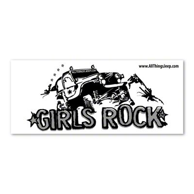 Girls Rock Decal