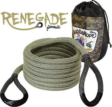 3/4 in. x 20 ft. Renegade Recovery Rope - 19,000 lb.