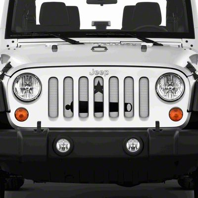 Dirty Acres Grille Insert - Take It (07-18 Jeep Wrangler JK)