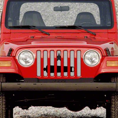 Dirty Acres Grille Insert - Take It (97-06 Jeep Wrangler TJ)