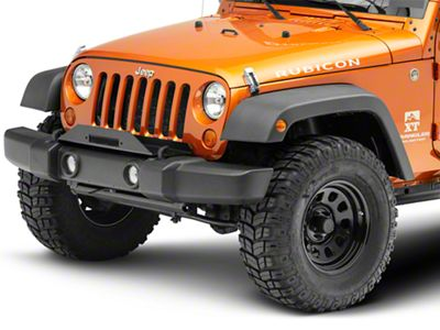 Rock Hard 4x4 Stock Bumper Winch Plate (07-18 Jeep Wrangler JK)