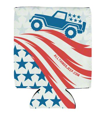 Old Glory Koozie