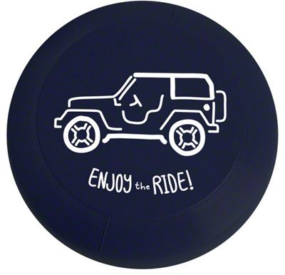 Enjoy the Ride Frisbee