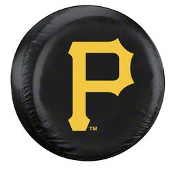 Pittsburgh Pirates MLB Spare Tire Cover - Black (87-18 Jeep Wrangler YJ, TJ, JK & JL)