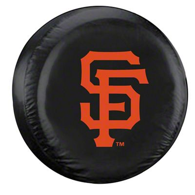 San Francisco Giants MLB Spare Tire Cover - Black (87-18 Jeep Wrangler YJ, TJ, JK & JL)