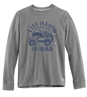Life is Good Mens Off Road Long Sleeve Shirt - Large